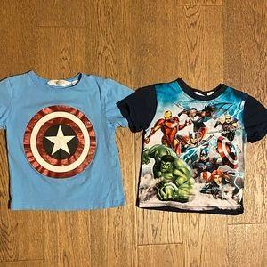 2 H&M Boys T-shirts